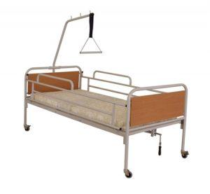Χειροκίνητο Νοσοκομειακό κρεβάτι